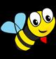 Lass es blühen - Rettet die Biene - Logo