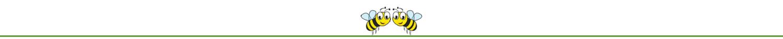 Lass es blühen - rettet die Biene - Trenner