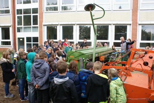 Lass es blühen - Blüh-Patenschaft für Grundschule Suhlendorf